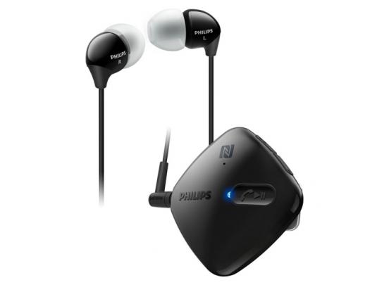 Philips Bluetooth Headset - In-Ear - Zwart