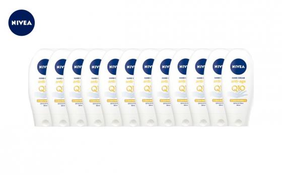 Nivea Handcreme Anti Age Q10 -  12x 125ml