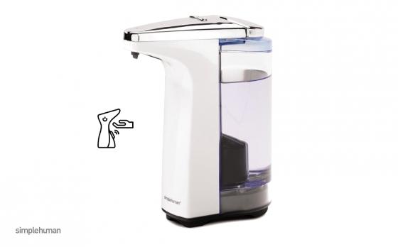 Simplehuman Zeepdispenser Compact - 237 ml - Wit