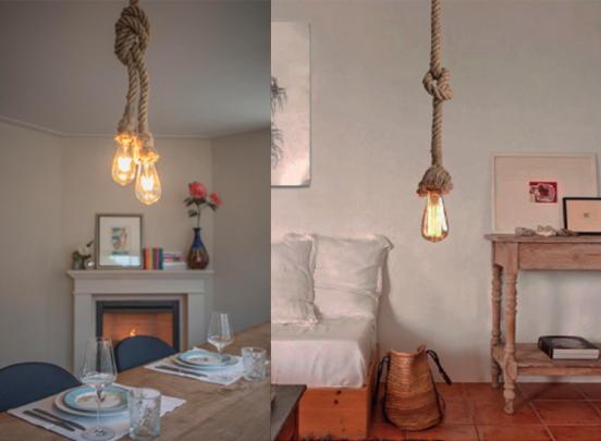 FlinQ Vintage Touwlamp - Keuze uit 100 of 250 cm