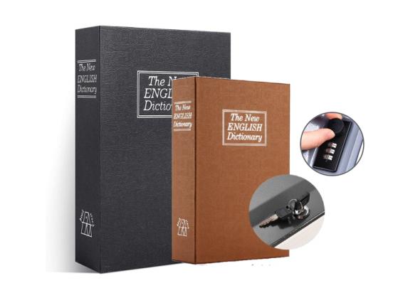 FEDEC Onopvallende Boekenkluis - Zwart of Koffie