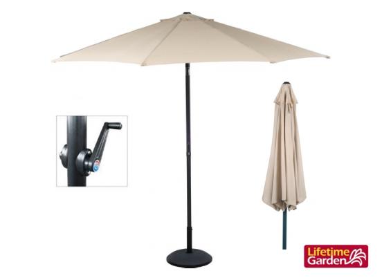 Parasol - taupe - 300 cm