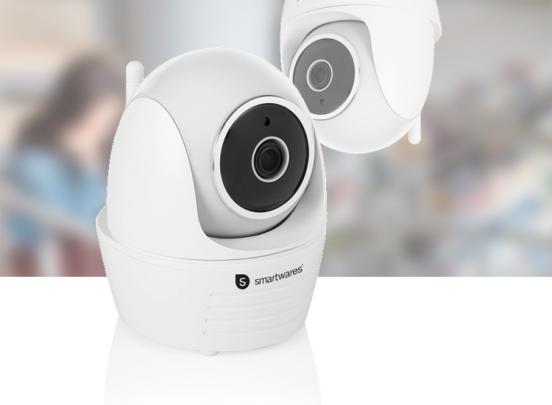 Smartwares IP indoor camera - 1080P Full HD - pan/tilt