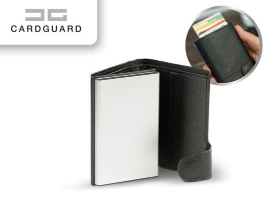Card Guard Protector Wallet - Zwart