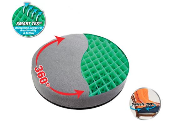 Konbanwa Comfort 360 Cushion – Draaibaar ergonomisch gelkussen voor rug- en beenklachten