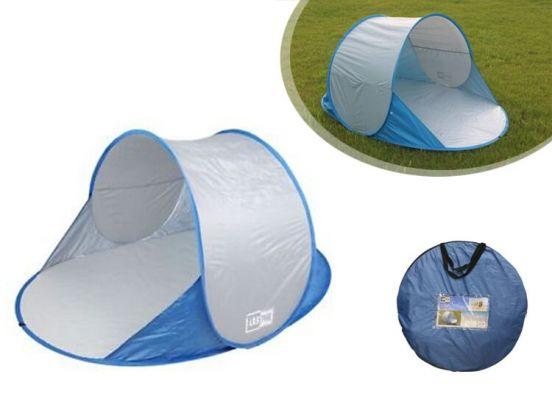 Tent pop up voor op het strand-Blauw