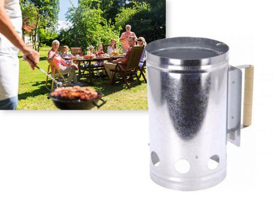 Barbecue houtskool quick starter XL - brikettenstarter