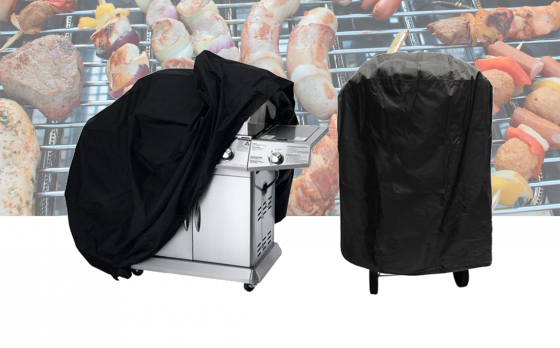 Barbecue Beschermhoes 170x61x117 cm
