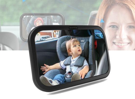 Baby Autospiegel - Hou gemakkelijk je kind in de gaten
