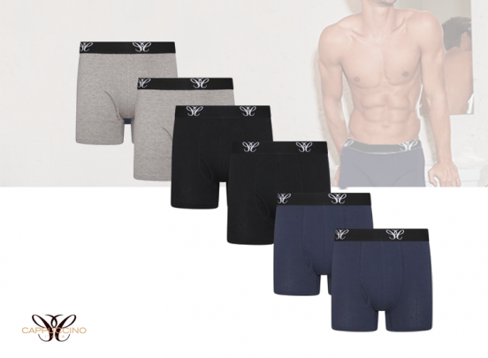 Cappuccino Italia Herenboxers - 6-pack - Mix