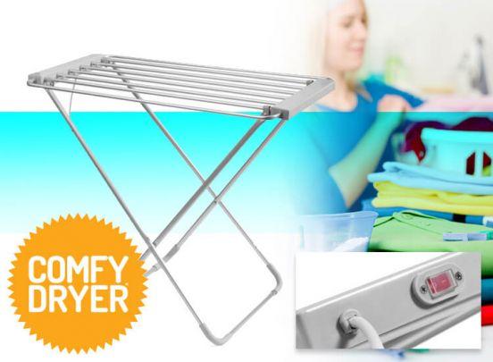 Thermic Dynamics Comfy Dryer elektrisch droogrek - Extra snel je was drogen