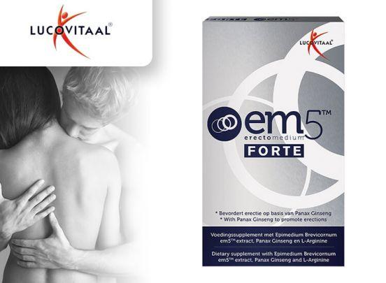 Luctovitaal EM5 erectiepillen - 6 capsules