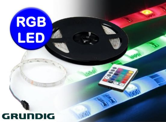 Grundig RGB LED strip - 5 meter