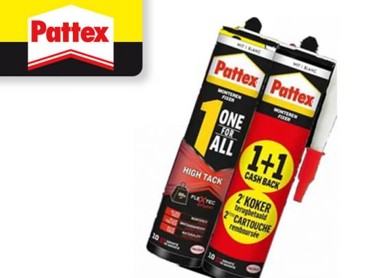 pattex one for all high tack wit 2pack