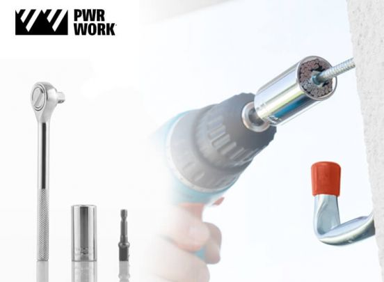 pwr work universal socket wrench