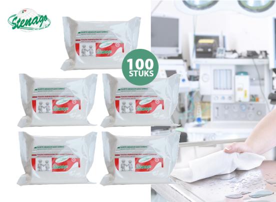 Stenago Desinfecterende doekjes 100 stuks