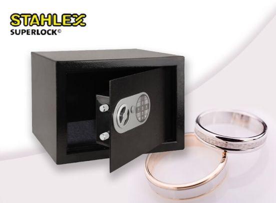 Stahlex elektronische kluis - Grote hotelkluis met elektronisch cijferslot