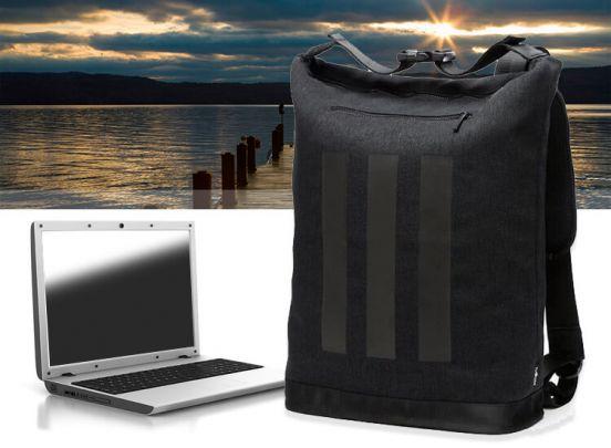 Waterbestendige Laptop Rugzak - Zwart - 36 Liter