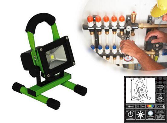 XQLITE LED WERKLAMP 5W OPLAADBAAR XQ1279