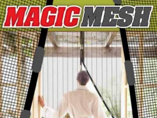 Magic Door Mesh Magnetische Deurhor - Insectenwering - Hordeur met magneten