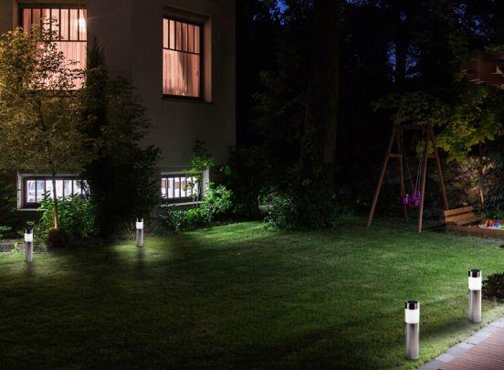 LED Lovers Solar LED Tuinlampen - 4 Stuks