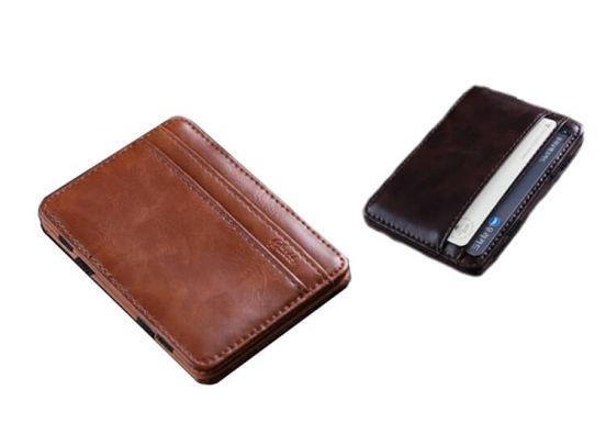 Magic Wallet - Creditcard Houder - PU-Leder