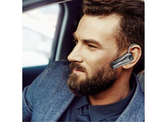 Fedec Draadloze Bluetooth Headset Met Microfoon Q5S - Sterke Accu - Opneemknop - Zwart