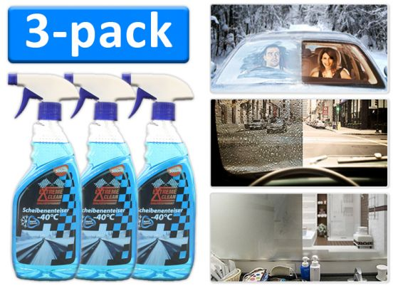 Nanotechnologie vloeistof - 3 Stuks - Water- en vuilafstotend wondermiddel