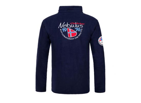 Nebulus Heren Fleecepullover - Navy - 3XL