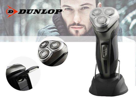 Dunlop oplaadbaar scheerapparaat met 3 roterende koppen