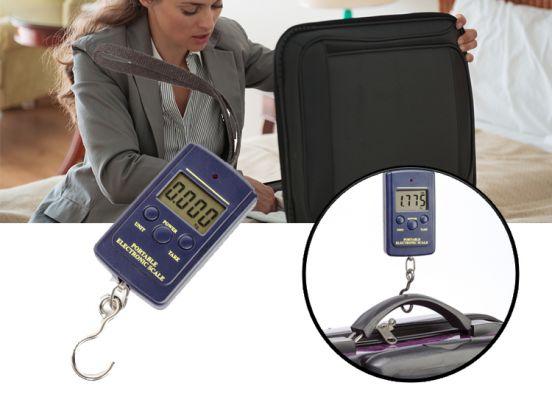 Portable bagage weegschaal