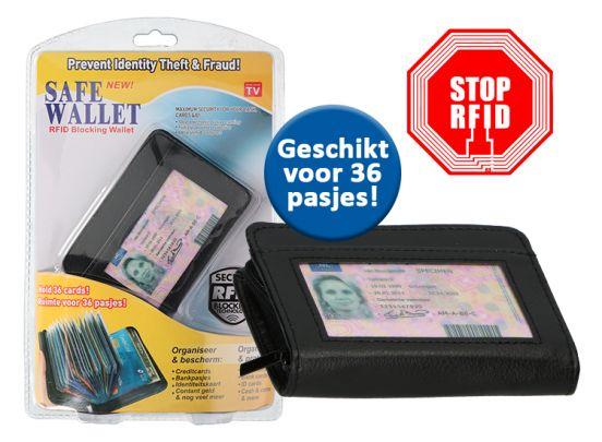 Pasjeshouder - 36 pasjes - RFID Blokking