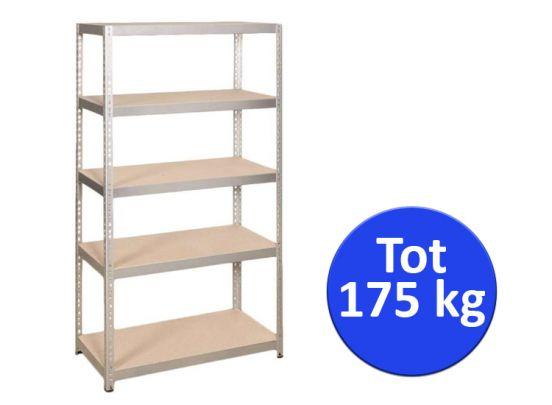 Stellingkast  - Opbergrek 5 planks 175 kg