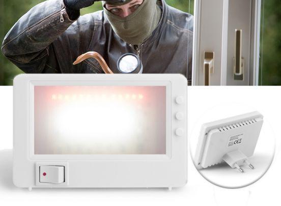 TV-simulator - Houd inbrekers buiten de deur