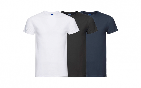Russell T-Shirts - 10 stuks