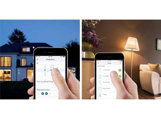 Smart WiFi stopcontact - bedien je apparaten op afstand via je smartphone