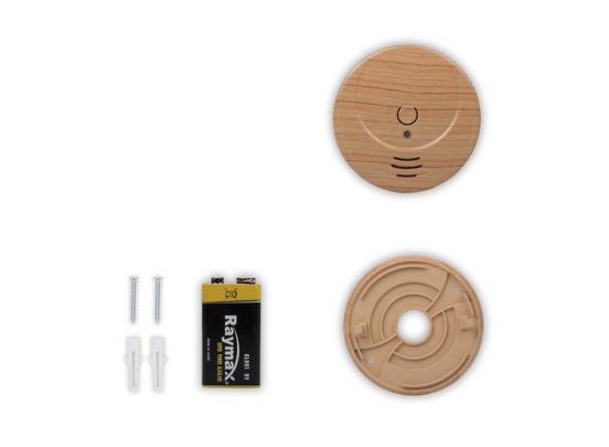 Smartwares RM149H rookmelder - Houtlook - 2 stuks - Koppelbaar