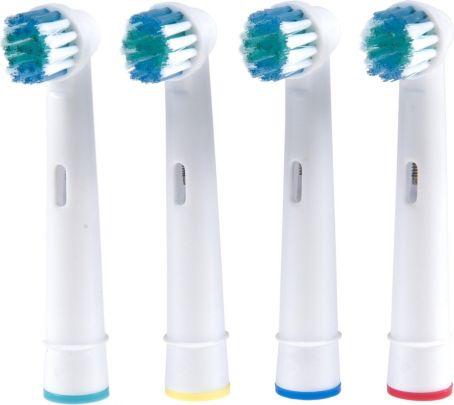 Opzetborstels Flexisoft - 8 Stuks - Geschikt voor Oral-B Tandenborstels