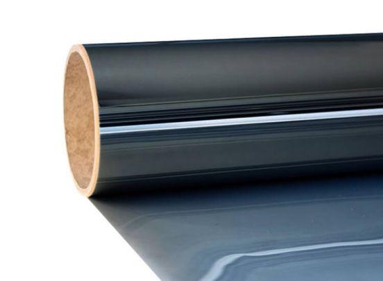 Zonwerende Raamfolie Zelfklevend - 300 x 75 cm - Krasbestendig - Zwart