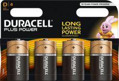 Duracell Dplus Batterij - 4 stuks - MN1300