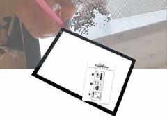 Crafts & Co A3 Led Lightpad voor Tekenen en Diamond Painting - Dimbaar