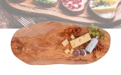 Bowls and Dishes Pure Olive Wood Tapasplank- Olijfhout - 45cm t/m 50cm