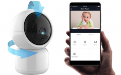 Sinji Smart Wifi Camera - Met Nachtzicht En Automatische Tracking