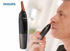 Philips NOSETRIMMER Series 5000 Zachte trimmer voor neus, nek en bakkebaarden NT5176/16