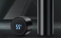 Thermosfles met tempratuur display