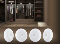 FlinQ oplaadbare indoor motion light 4-pack