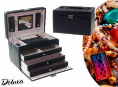 Deluxa sieradenbox - Al je ringen, armbanden en oorbellen overzichtelijk opgeborgen