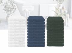 The One Towelling 10-Pack Handdoeken - 50x100 - Verschillende Kleuren