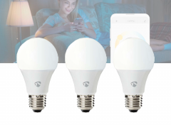 Nedis SmartLife LED Bulb | E27 | 800 lm | 9 W | Dimbaar Wit / Koud Wit / Warm Wit