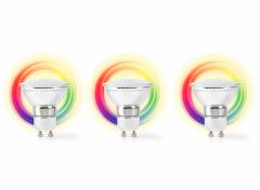 Nedis SmartLife LED Spot| GU10 | 400 lm | 5 W |Dimbaar Wit / Koel Wit / Warm Wit